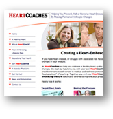 HeartCoaches Website