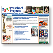 123 Preschool Projects Website